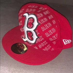 Boston Red Sox 7 1/4 rare new era fitted hat